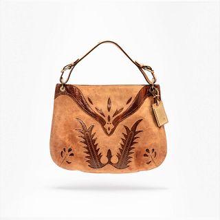 Ralph Lauren Leather Hobo Handbag