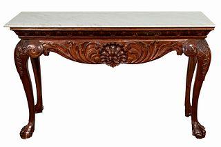 Georgian Style Marble Top Table