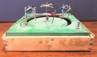 Early 1900's French Race Horse Gambling Parlor Game