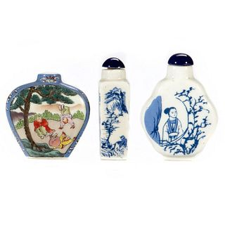 Collection of Chinese Porcelain Snuff Bottles