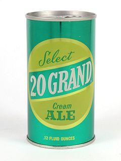 20 Grand Cream Ale ~ 12oz ~ T132-09