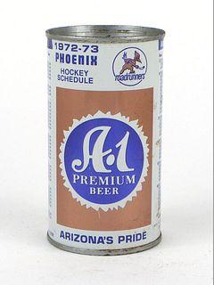 A-1 Premium Beer 1972 Roadrunners Schedule ~ 12oz ~ T35-12