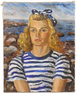 """""""BARRIE"""" BARSTOW GREENBIE (CASTINE, MAINE, 1920-1988)"""