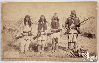 Native American Indian photo, Geronimo, by CS Fly
