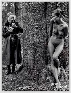Judy Dater photograph, Imogen and Twinka