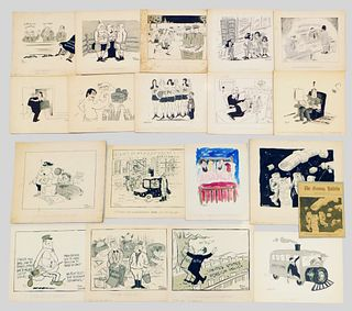 19PC Fred Scoullar Sunday Paper Comics Archive