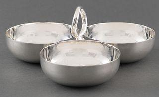 Christofle Vertigo Silver-Plated Nut Dish