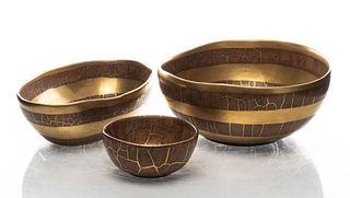 Michael Wainwright Art Pottery Bowls, 3