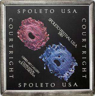 Robert Courtright 1983 Spoleto Festival Poster