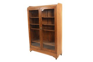 Mission Oak Curio Display Cabinet c. 1900