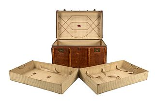19th C. The Rt & Honorable Lord Wharncliffe Trunk