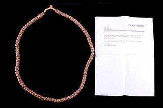 """1600's Venetian Milifiori Beads """"Museum Condition"""""""