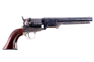 Colt 1851 Percussion Cap Etched Navy Revolver