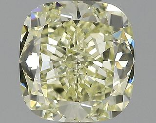 1.32 ct., Fancy Yellow/SI1, Cushion cut diamond, unmounted, GM-0779