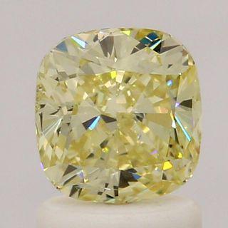 1.22 ct., Fancy Yellow/SI2, Cushion cut diamond, unmounted, IM-339-074-41