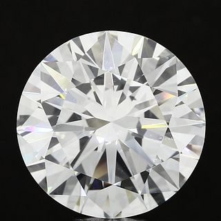 7.55 ct., F/VVS1, Round cut diamond, unmounted, IM-259-010