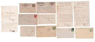 Stuart, Litchfield, and Bolling Families of Virginia, Collection of Letters, Ca 1870-1930s