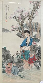 A Chinese Painting by Wu Xianguang