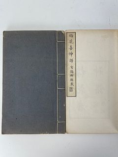 A Model Books for Chinese Traditional Painting Plum Bossom