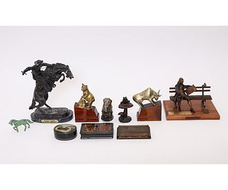 """FREDERIC REMINGTON REPRODUCTION """"WOOLY CHAPS"""" etc."""