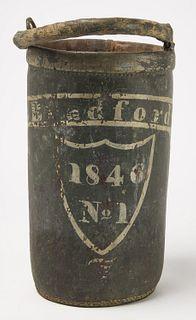 Fire Bucket W. Bedford