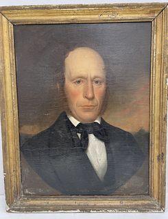 Primitive Portrait of a Man