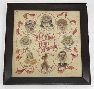 The Whole Damn Family Needlework & Embroidery