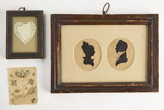 Folk Art Group of Works on Paper