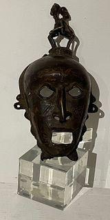 Original SENUFO mask from Ivory Coast
