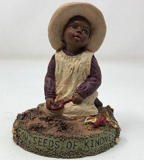 vintage MISS MARTHA ORIGINALS figurine SOW SEEDS