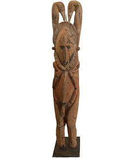 20th Century Abelam Ancestor Figure Papua New Guinea/Pr