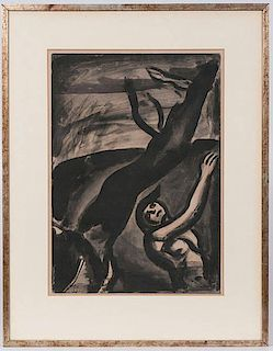 Georges Rouault Etching with Aquatint