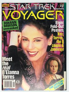 Vintage STAR TREK VOYAGER Magazine #12 June 1997