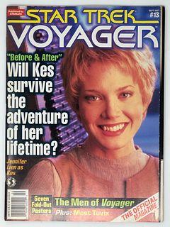 Vintage STAR TREK VOYAGER Magazine #13 Sep 1998
