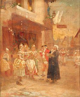 GASTON LA TOUCHE (FRENCH, 1854 - 1913).