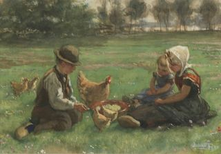 JULIAN RIX (AMERICAN, 1850-1903).