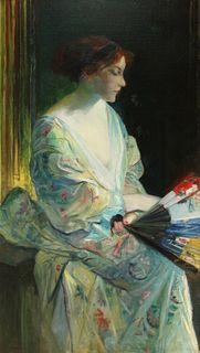 HARRY SCHWABE (AMERICAN, 1843 - 1916).
