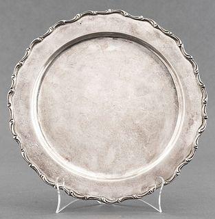 Juvento Lopez Reyes Mexican Silver Dish