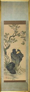 Chinese School Painting on Silk