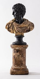 Grand Tour Style Bust Of Nero