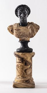 Grand Tour Style Bust Of Tiberius