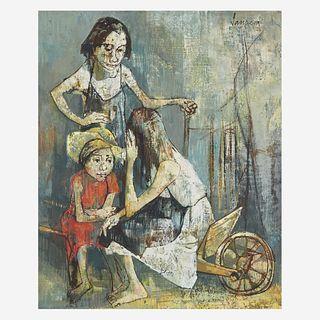 Jean Jansem (French/Armenian, 1920-2013) Untitled