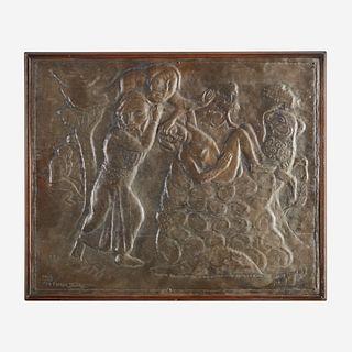 Marek Szwarc (Polish/French, 1892-1958) Sacrifice (The Binding of Isaac)