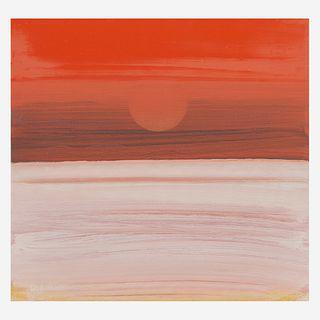 Elizabeth Osborne (American, B. 1936) Falling Sun