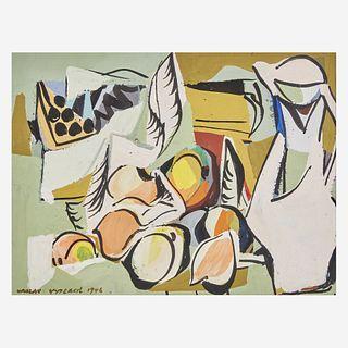 Vaclav Vytlacil (American, 1892-1984) Still Life