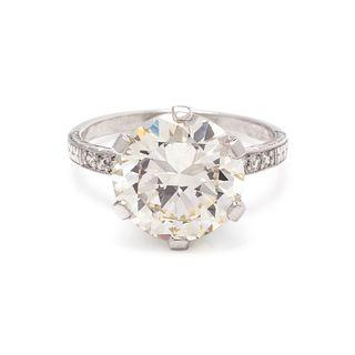 ANTIQUE, DIAMOND RING