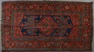 Semi Antique Oriental Carpet, 3' 10 x 6' 6.