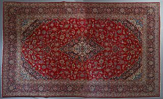 Large Sarouk Carpet, 11' x 17' 9.