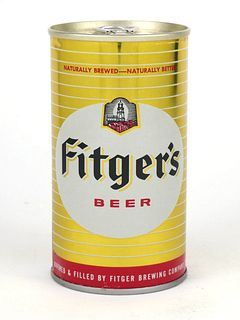 1971 Fitger's Beer 12oz Tab Top T65-21