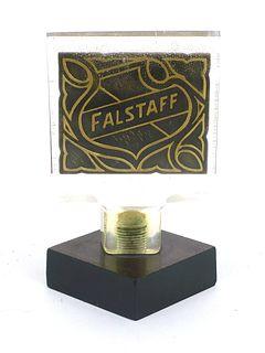 1969 Falstaff Beer  Acrylic Tap Handle